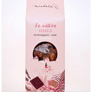 Törökmogyorós-csokis granola