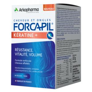 Forcapil Keratin+ Hajerősítő 60 db