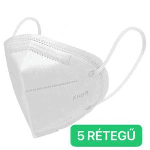 KN95(FFP2) Védőmaszk  5 Rétegű Szájmaszk / maszk