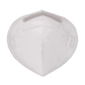 FFP2 / KN95 prémium szájmaszk, légzésvédő maszk, fehér