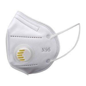 FFP2 szelepes maszk (fehér) – 10 db