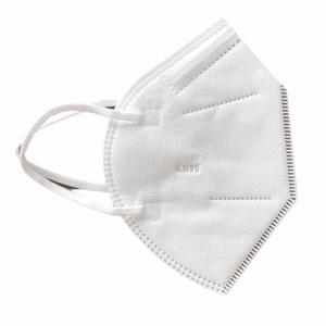 KN95/ FFP2 szelep nélküli maszk (fehér) – 10 db